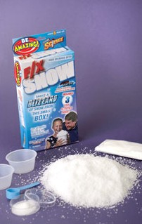 magic snow powder instructions